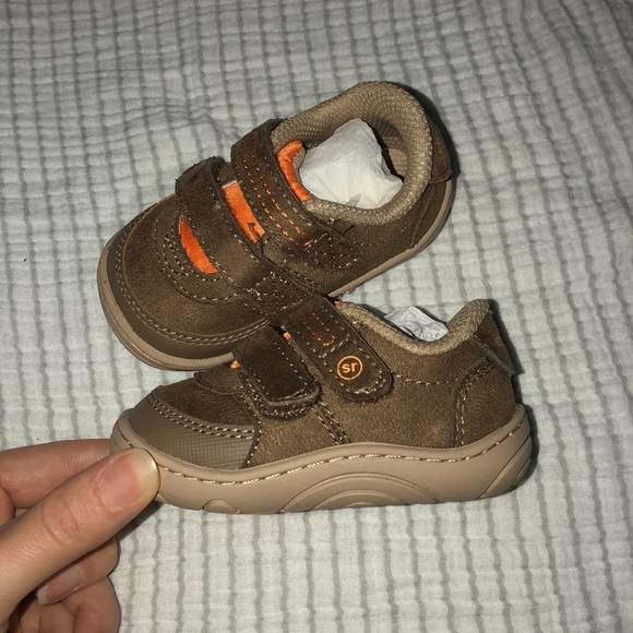 1208d64aa53f5 Boy's Stride Rite Brown Kyle Shoes